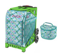 Zuca Sport Bag - Kokomo Mermaid w/Lunchbox (Limited Edition/Green Frame)