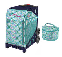 Zuca Sport Bag - Kokomo Mermaid w/Lunchbox (Limited Edition/Navy Frame)