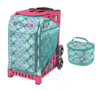 Zuca Sport Bag - Kokomo Mermaid w/Lunchbox (Limited Edition/Pink Frame)
