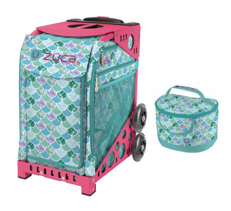 Zuca Sport Bag - Kokomo Mermaid w/Lunchbox (Limited Edition/Pink Frame)