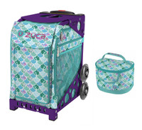 Zuca Sport Bag - Kokomo Mermaid w/Lunchbox (Limited Edition/Purple Frame)