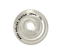 Moxi Glitter Clear Quad Roller Skate Outdoor Wheels (58mm/78A)