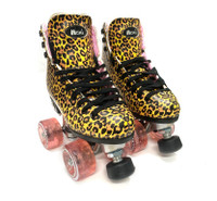 Riedell Quad Roller Skates - Jungle Leopard (Refurbished)