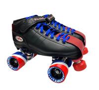 R3 Derby Quad Roller Skates American Patriot Custom Package