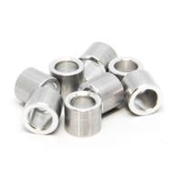 Roll-Line Wheel  Roller Skate Bearing Spacers – Aluminum (Set of 8)