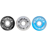 Atom Inline Outdoor Wheels - Mirage Super High Rebound (6pk, Hardness 87A)