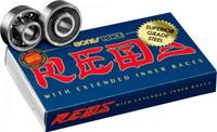 Bones Roller Skate and Skateboard Bearings - Race Reds (8mm - 8 Pack)