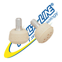 Roll-Line Super Jump  Roller Skate Toe Stops (Cappuccino)