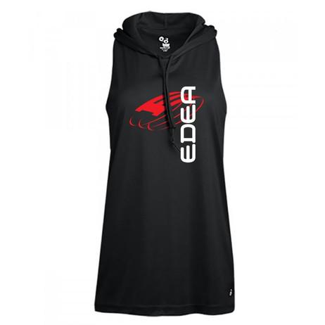 Edea Hooded Sleeveless Performance Shirt (Ladies)