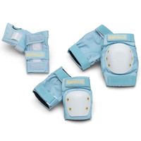 Impala Rollerskates - Adult Protective Pack (Sky Blue/Yellow)