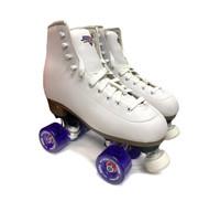 Sure-Grip Quad Roller Skates - Fame- Size Mens 7 / Ladies 8 Only (Refurbished)