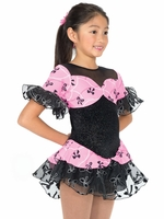 Jerry's Ice Skating Dress   - 11 Bow & Beads (15% OFF, Size 6-8)