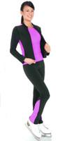 Jerry's 362 Black/ Violet Sport legging top seet (Size AL, Jacket not included)