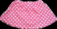 ChloeNoel K01 Aline Skate Skirt FUCHSIA DOT (30% OFF, AS)