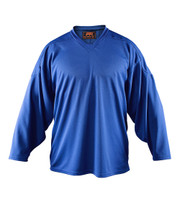 Flow Hockey Jersey - Solid Practice Jersey (15% OFF, Royal Blue, Senior X-Large)