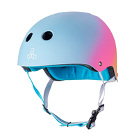 Triple Eight THE Certified Sweatsaver Roller Skating Helmet - Sunset