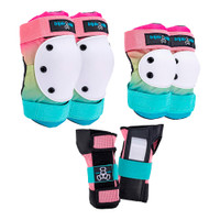 Triple Eight Saver Series Roller Skating Pad Set - Shaved Ice