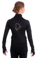 Elite Xpression - Black Skate Jacket - Crystal