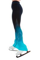 Elite Xpression - High Waist Pastel Sprinkle Skate Faded Legging - Blue