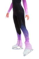 Elite Xpression - High Waist Pastel Sprinkle Skate Faded Legging - Lilac