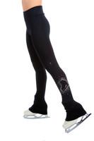 Elite Xpression - High Waist Pastel Sprinkle Skate Legging - Crystal