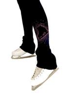 Elite Xpression - High Waist Pastel Sprinkle Skate Legging - Pink