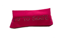 Elite Xpression - LOVE TO SKATE Headband Pink