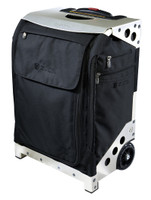 Zuca Artist Flyer Bag- Black Insert  And Silver Frame 2nd view