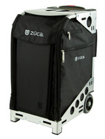 Zuca Aritst Pro Bag - Black Insert And Silver Frame 2nd view