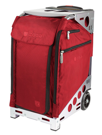 Zuca Artist Pro Bag - Ruby Insert And Silver Frame 2nd view