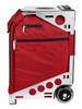 Zuca Artist Pro Bag - Ruby Insert And Silver Frame 4th view