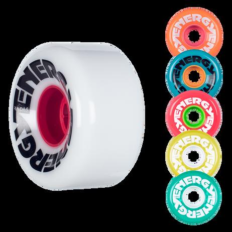 Riedell Skates Radar Energy 62mm Outdoor Skate Wheels