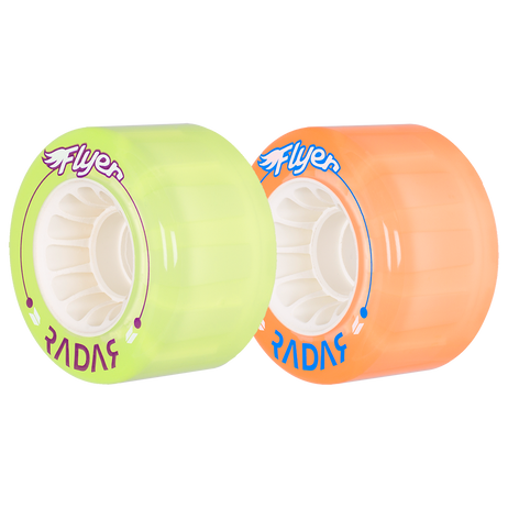 Riedell Skates Radar Flyer 66mm Outdoor Skate Wheels