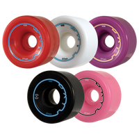 Riedell Skates Radar Riva Artistic/Rhythm Skate Wheels (Set of 4)