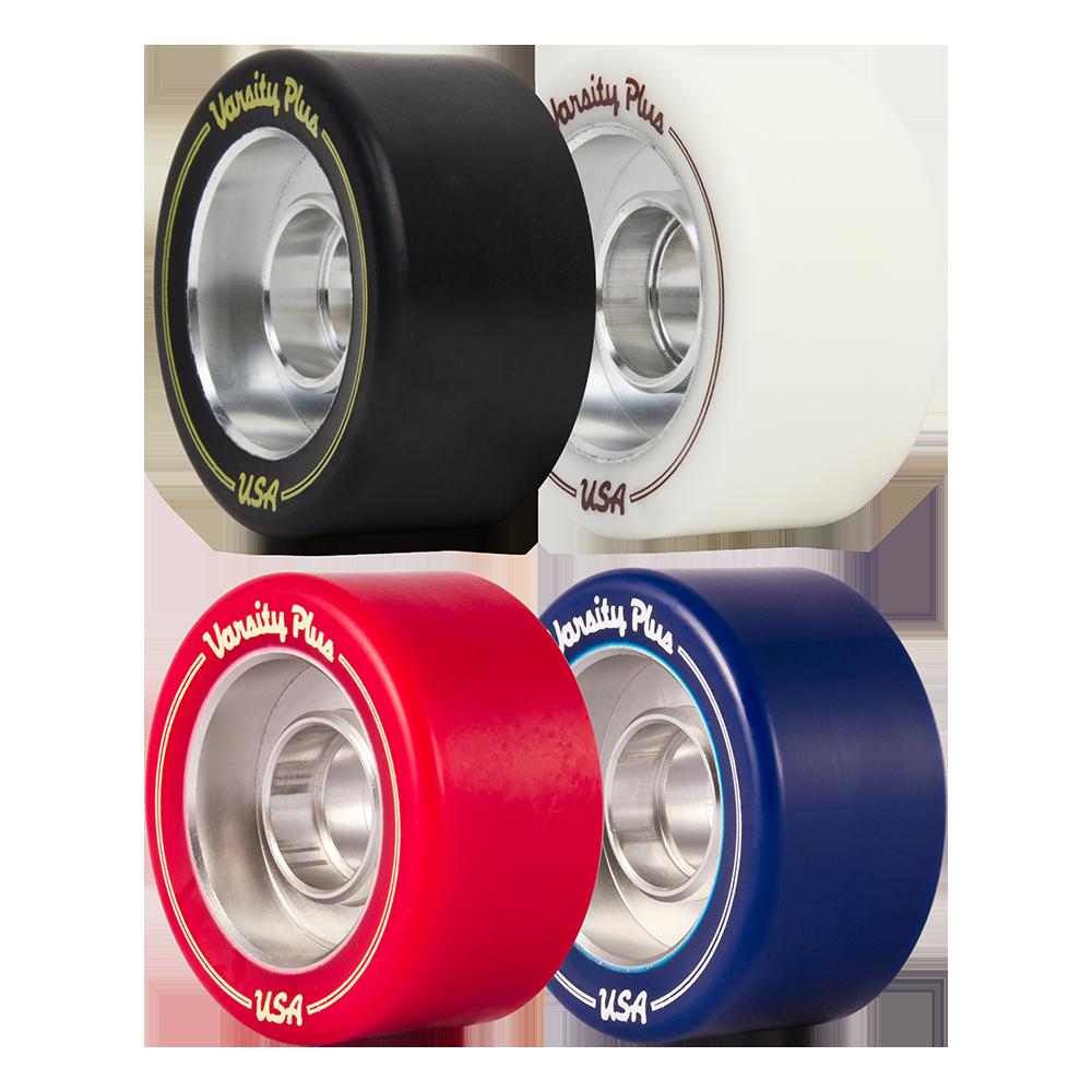 Set of 4 Riedell Skates Radar Varsity PLUS Artistic//Rhythm Skate Wheels