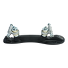Riedell Quad Roller Skates - 120 Raven (White) 2nd view
