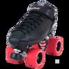 Riedell Quad Roller Skates - R3 Derby (White)