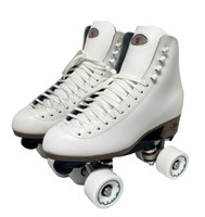 Riedell Quad Roller Skates - 120 Uptown (White)