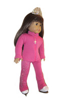 "18"" Doll Ice Skating Outfit (pink)"