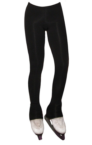 """Figure Skating Pants with """"Pair of Skates"""" applique"""