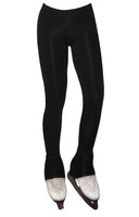 """Ice Skating Pants with """"Colorful Layback"""" rhinestone applique"""