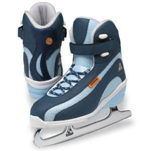 Ice Skates Women's Elite ST3900 Size 4 Navy (Refurbished)