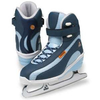 Ice Skates Women's Elite ST3900 Size 4 Navy (Refurbished)