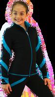 ChloeNoel J636F Fleece Figure Skating Jacket