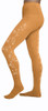 ChloeNoel Footed Ice Skating Tights 3330 Medium Tan - 2Swirls
