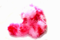 Crazy Fur Soakers - 05GCF - Glitter Crazy Fur - Pink