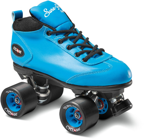 Sure-Grip Quad Roller Skates - Cyclone