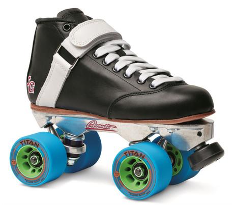 Sure-Grip Quad Roller Skates - Phoenix Avanti Aluminium (Ladies sizes)