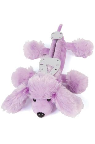 Blade Buddies Ice Skating Soakers- Purple Poodle
