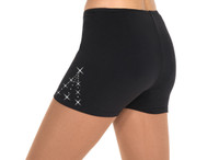 453 Crystal Supplex Ice Skating Shorts